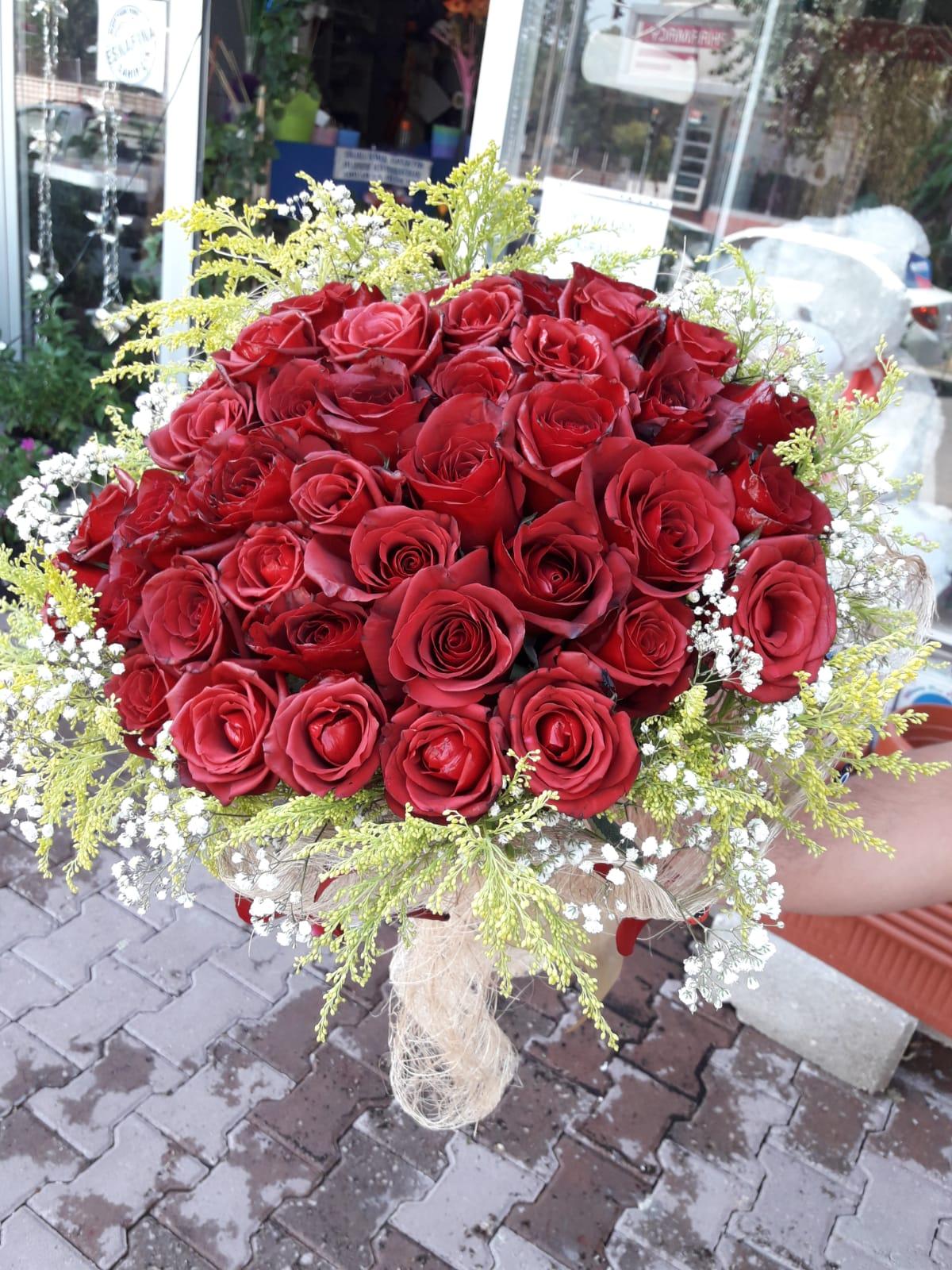 41 Gül Buketi Adiyaman çiçek Adıyamanda çiçekçi Adıyaman